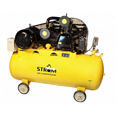 Oro kompresorius 100L, 4.0KW, 380V STROM (V-0.6/12.5)
