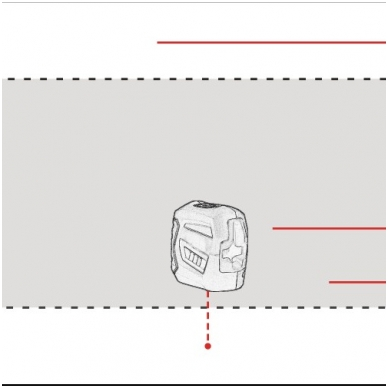 Lazerinis nivelyras ADA 2D Basic Level 4