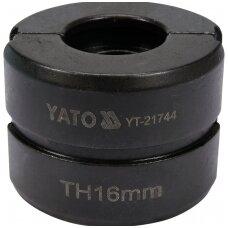 Indėklas TH 16 mm presavimo replėms YT-21735
