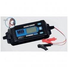 Akumuliatoriaus įkroviklis - elektroninis lygintuvas AGM & STD gelio ir švino rūgštinėms baterijoms