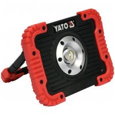 Akumuliatorinė šviesos diodų lempa 10W COB LED 800Lm