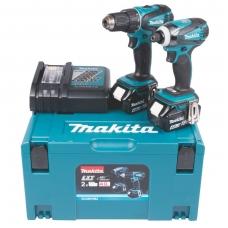 Akumuliatorinių įrankių rinkinys Makita DLX2127MJ 18V 2x4,0Ah DDF482+DTD152
