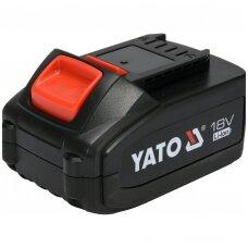 Akumuliatorius YATO 18V 4,0Ah LI-ion