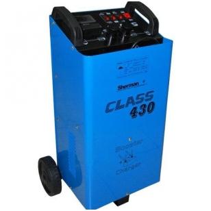 Akumuliatorių įkroviklis su paledimo funkcija Sherman CLASS 430 12V/24V