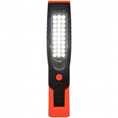 Akumuliatorinė darbo lempa 30+7 LED 2