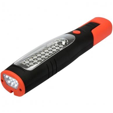 Akumuliatorinė darbo lempa 30+7 LED 3