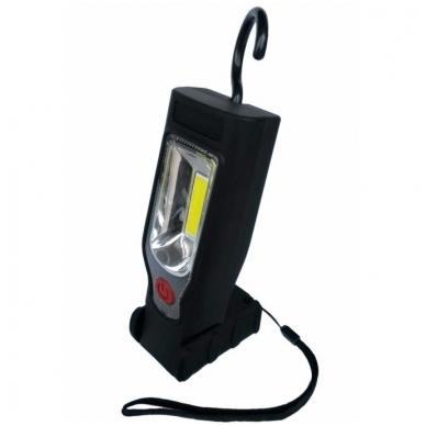 Akumuliatorinė darbo lempa COB LED 3