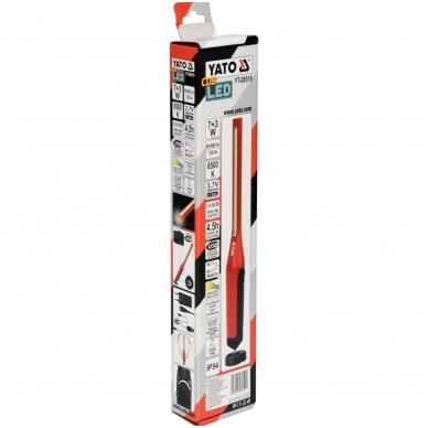 Akumuliatorinė darbo lempa labai galinga 7W COB, 600LM+120LM 5