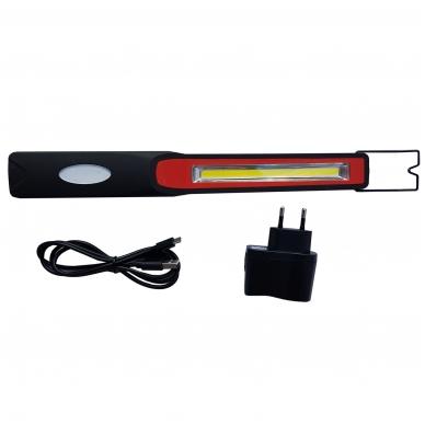 Akumuliatorinė labai plona darbo lempa COB LED 2