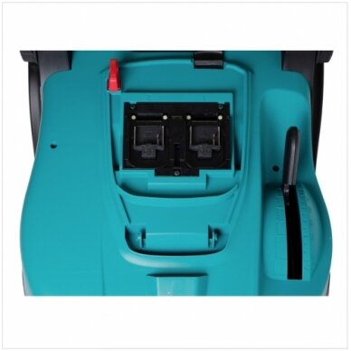 Akumuliatorinė vejapjovė Makita DLM432CM2 430mm 2x4,0Ah 36V 2x18V, dvigubas kroviklis 4