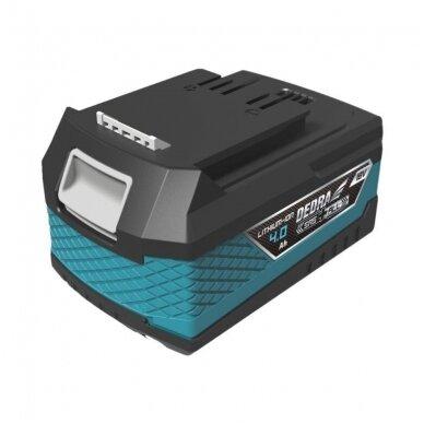 Akumuliatorinis grandininis pjūklas DEDRA SAS+ALL DED7095ML + 4,0Ah baterija ir kroviklis 3