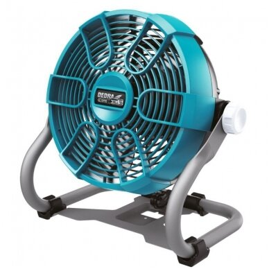 Akumuliatorinis ventiliatorius 18V DEDRA SAS+ALL (be akumuliatoriaus ir pakrovėjo)