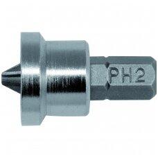 """Antgalis 1/4"""" x 25mm ribotuvas gipsui PH2 20vnt. YATO"""