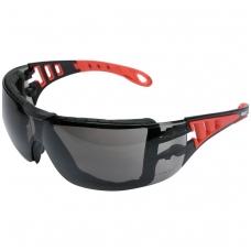 Apsauginiai akiniai pilki su diržu YATO