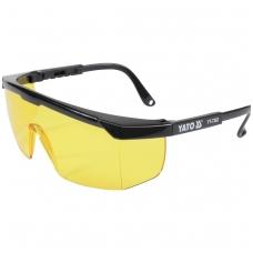 Apsauginiai akiniai geltoni YATO