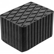 Automoblių keltuvų guminis padas 160x120x115mm BGS 7039
