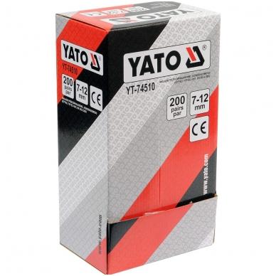 Ausų kamšteliai 34dB 200porų YATO 3