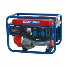 Benzininis elektros generatorius 2.2kW DEDRA