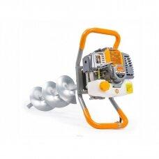 Benzininis žemės grąžtas 6AG, 3 grąžtai komplekte, Powermat
