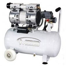 Betepalinis oro kompresorius, tylus 24l, 110L/min, 8bar