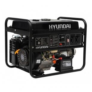 Benzininis elektros generatorius Hyundai 4,5kW/4,0kW su elektriniu starteriu