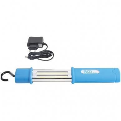 Belaidė rankinė COB-LED lempa atspari drėgmei