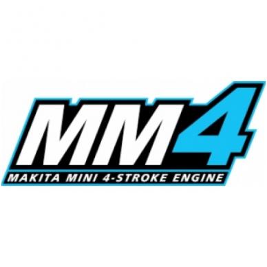Benzininė krūmapjovė trimeris 4-taktis variklis 1,07kW MAKITA EBH341UX1+SET 3