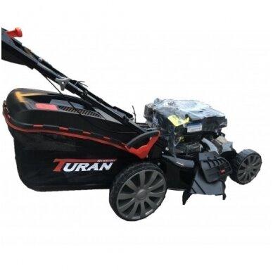Benzininė žoliapjovė savaeigė 4in1 TURAN B&S750EX 530mm 2