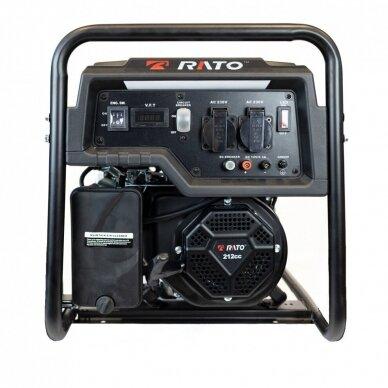 Benzininis elektros generatorius 3kW/2,7kW RATO R3000