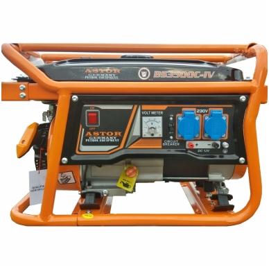 Benzininis elektros generatorius Astor 3000W/2800W