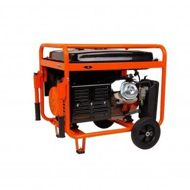 Benzininis elektros generatorius Astor 5.5kW/5.0kW 220V / 380V 2