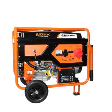 Benzininis elektros generatorius Astor 5.5kW/5.0kW 220V / 380V