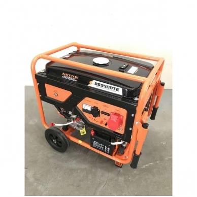 Benzininis elektros generatorius Astor 8kW/7.5kW