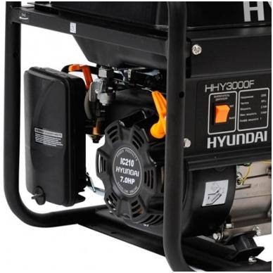 Benzininis elektros generatorius Hyundai 3kW/2,6kW 3