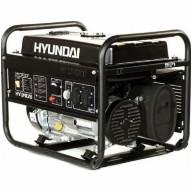 Benzininis elektros generatorius Hyundai 3kW/2,6kW 2