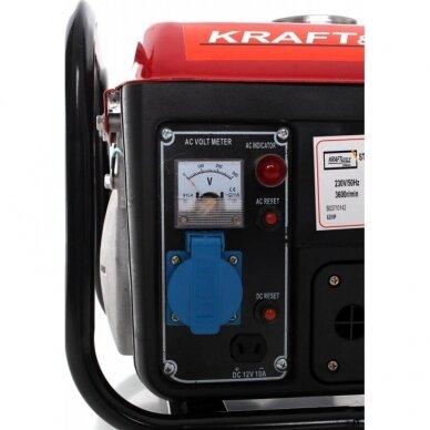 Benzininis generatorius Kraftdele 1200 W 7