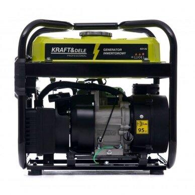 Benzininis inverterinis generatorius 2000W 230V Kraft&Dele 2