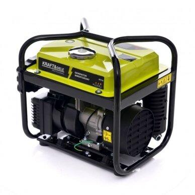 Benzininis inverterinis generatorius 2000W 230V Kraft&Dele 3