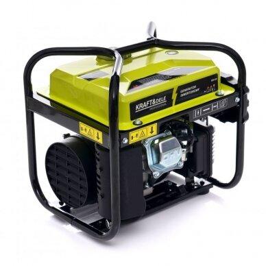 Benzininis inverterinis generatorius 2000W 230V Kraft&Dele 6