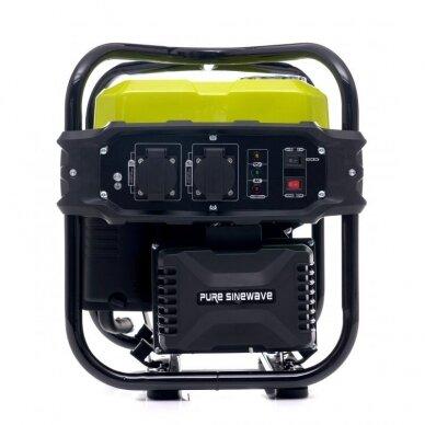 Benzininis inverterinis generatorius 2000W 230V Kraft&Dele 7