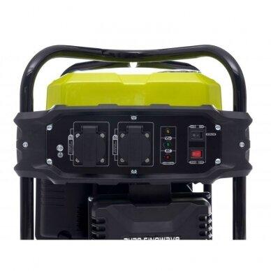 Benzininis inverterinis generatorius 2000W 230V Kraft&Dele 8