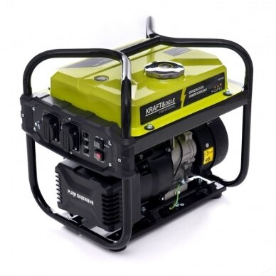 Benzininis inverterinis generatorius 2000W 230V Kraft&Dele
