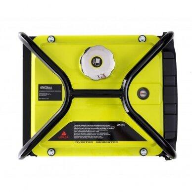 Benzininis inverterinis generatorius 2000W 230V Kraft&Dele 10