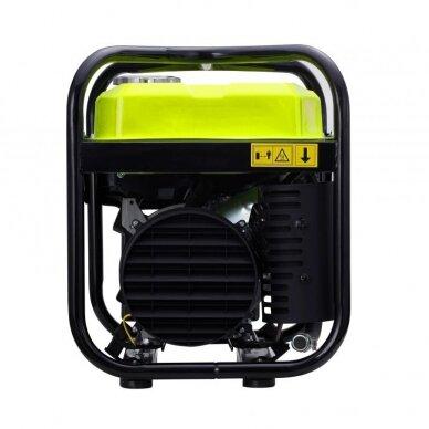 Benzininis inverterinis generatorius 2000W 230V Kraft&Dele 11