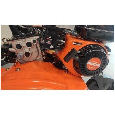Benzininis kultivatorius motoblokas Amber-Line MB-7C, B-Class, 7.5Ag 2