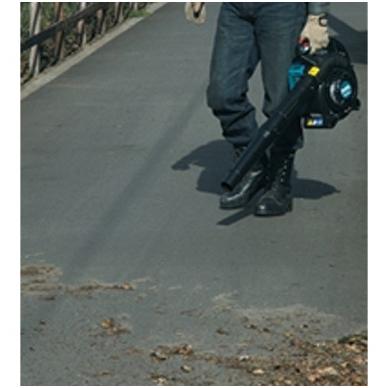 Benzininis nešiojamas lapų pūtiklis (Keturtaktis) Makita BHX2501 3