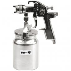 Dažymo pistoletas su apatiniu bakeliu HVLP 1000ml Ø1.4mm