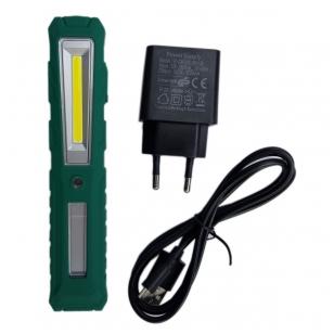 Darbo lempa akumuliatorinė COB LED (mini)