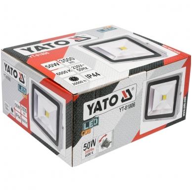 Darbo lempa COB LED 50W, 3500Lm 4