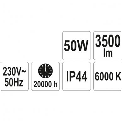 Darbo lempa COB LED 50W, 3500Lm 6